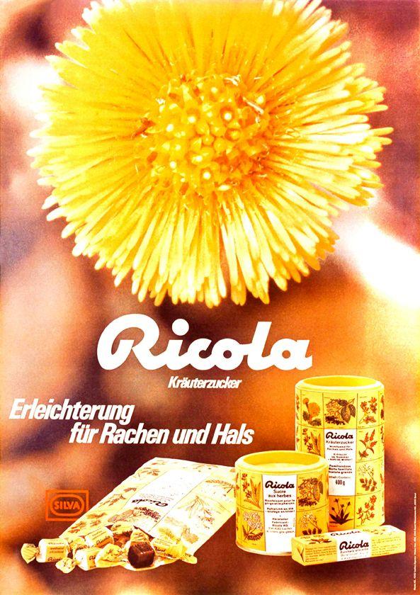 #Herbs #Drops #Oldadverts #Advertising #Ricola