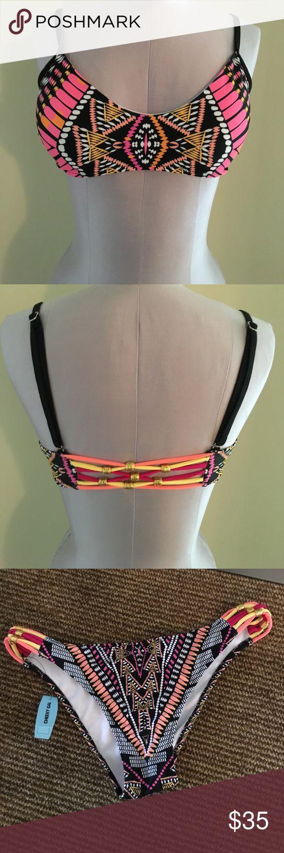 NWT Tribal Bikini Size M NWT Tribal Bikini Size M Swim Bikinis