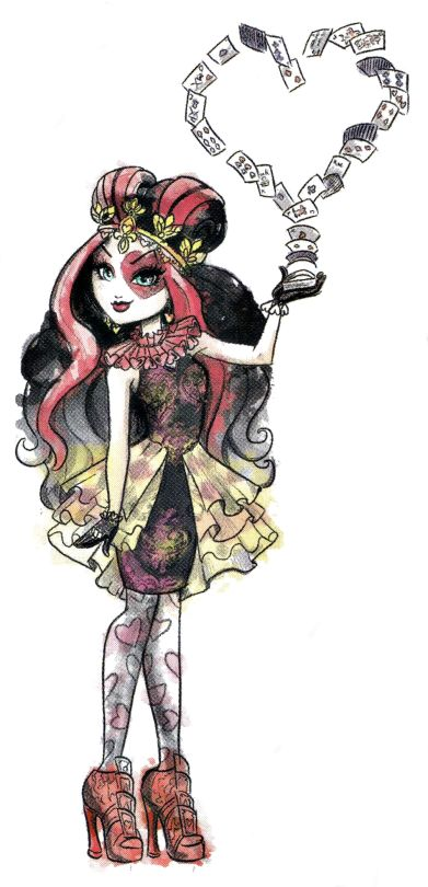 Ever After High | Lizzie Hearts | Daughter of The Queen of Hearts