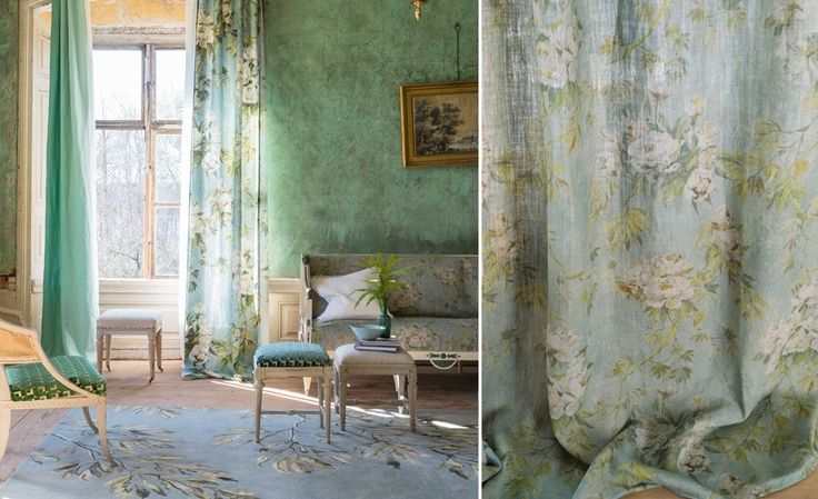 CAPRIFOGLIO FABRICS Frescos flowers and sky – a graceful and liberating collection