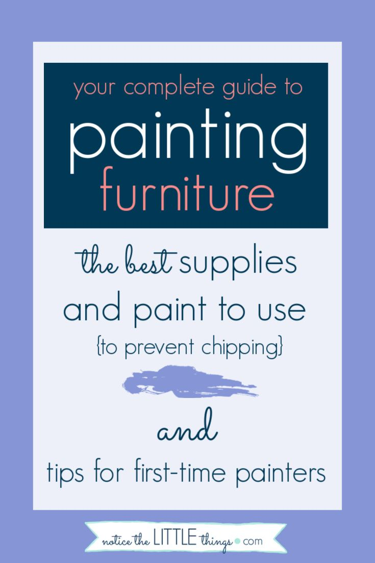 Complete guide to painting furniture home painting furniture