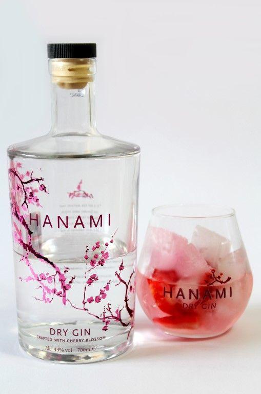 Hanami Gin met aardbeien