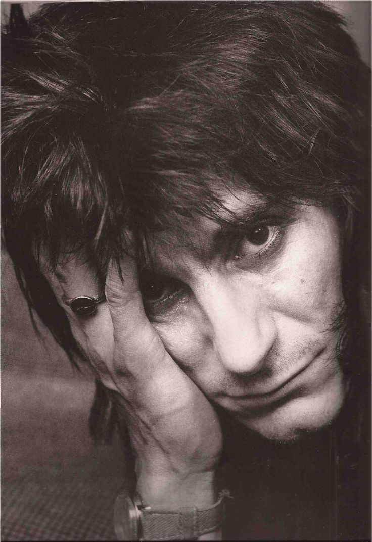 Ron Wood, New York City, 1980 by Annie Leibovitz