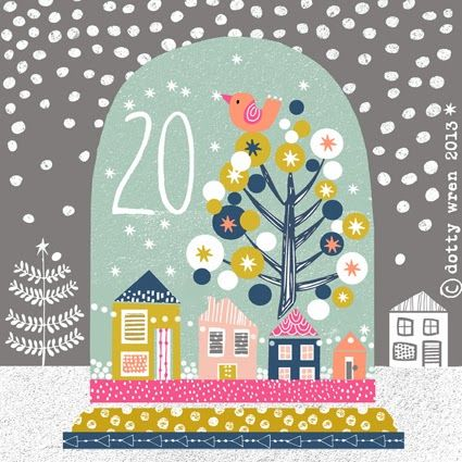 dottywrenstudio: advent calendar...day 20