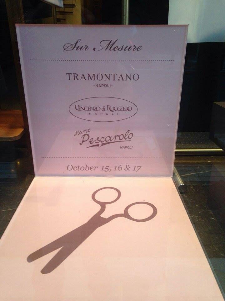 """Scatti live direttamente da Atene per """"High Class Couture"""". #Tramontano #bags #handmade #madeinitaly"""