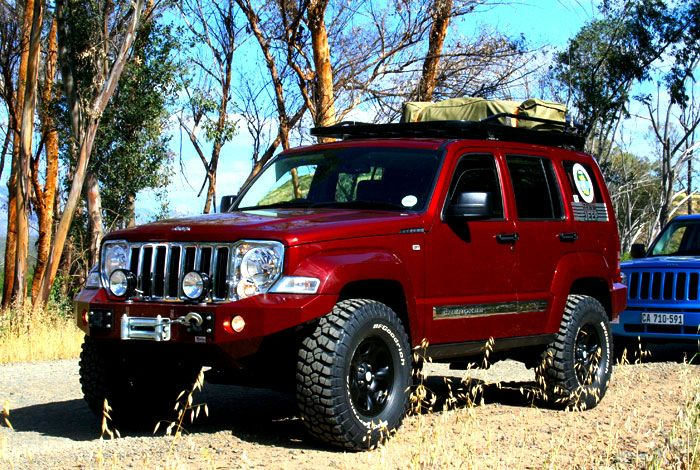 Nice off-road bumper and lift