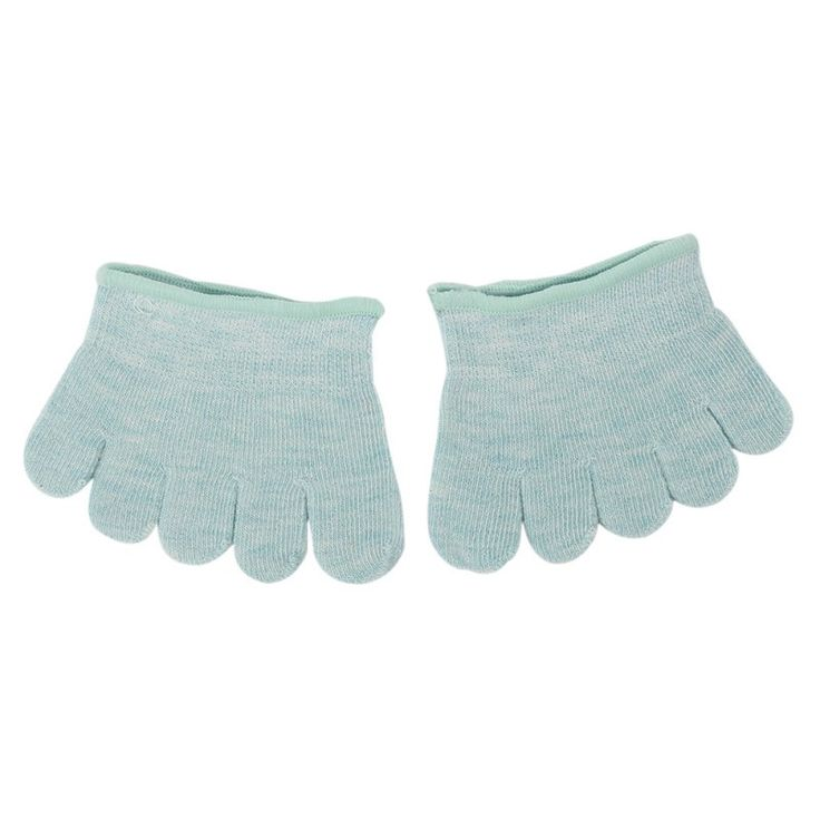 Half Foot Socks Finger Skid Peep Toe Anti Slip Pilates Ankle Durable High Heel Half Open Five calcetines Socks YT2