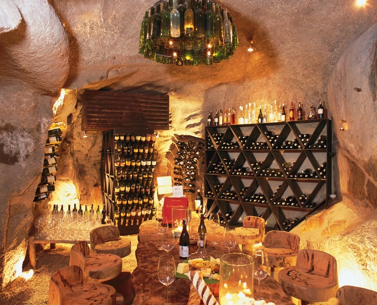 #Wine Cellar - the European atmosphere in a #tropical bay