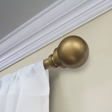 Curtains Ideas 1.5 inch diameter curtain rod : 17 best ideas about Brass Curtain Rods on Pinterest | Drapery rods ...