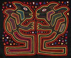 Тканевые орнаменты индейцев Куна (Центральная Америка)