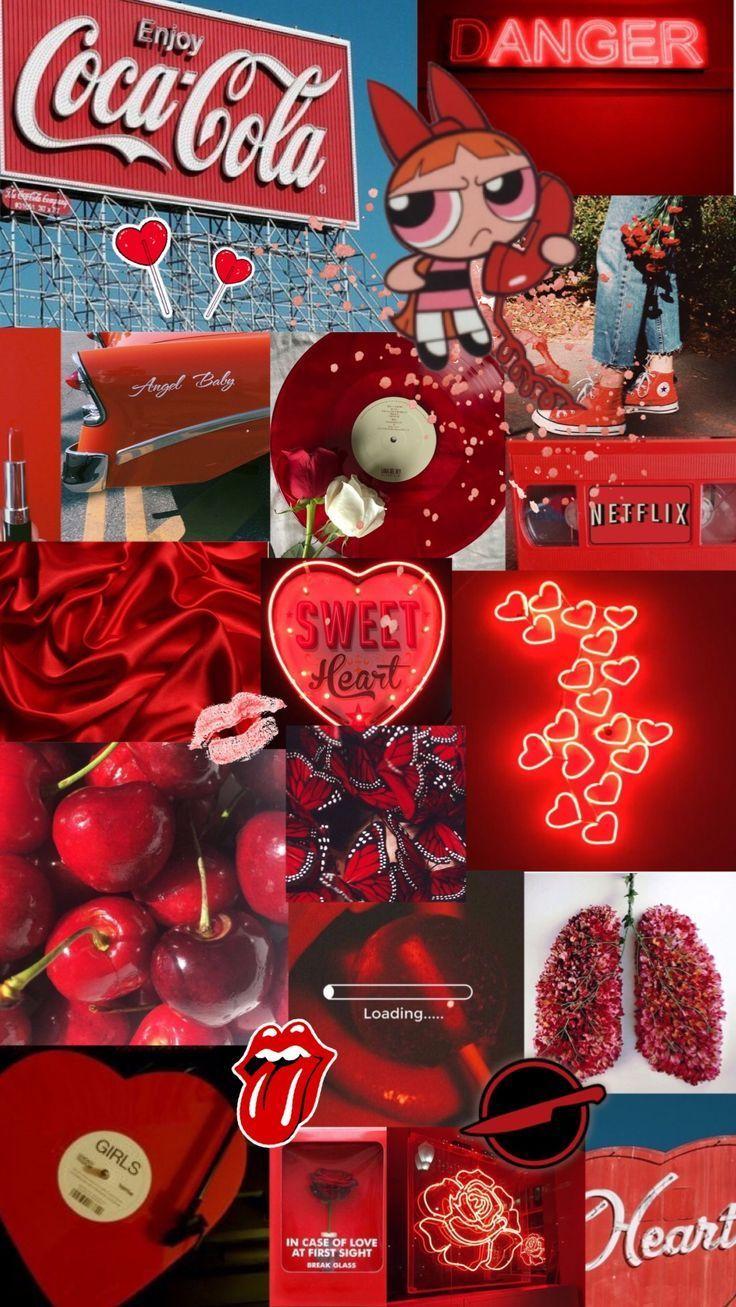 Red Aesthetic Background Aesthetic Background Redaesthetic