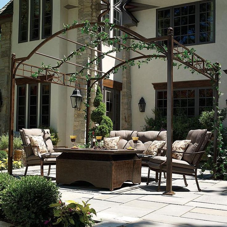 74 Best Wrought Iron Gazebos Arches Pergolas Images On