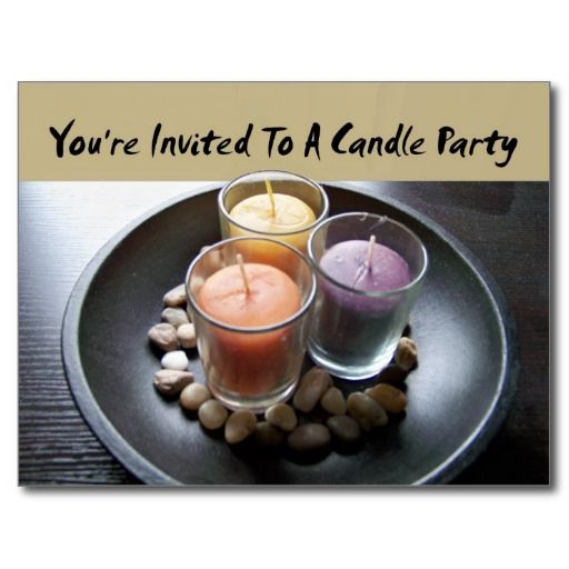 54 best Party Invitations images – Candle Party Invitations