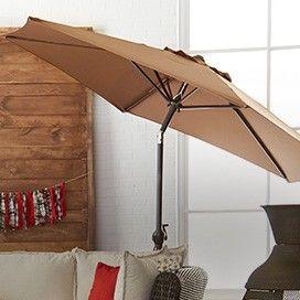 CANVAS Covington Round Patio Umbrella | Luxe Lounge | Canadian Tire http://www.canadiantire.ca/inspiration/en/seasonal/canvas/luxe-lounge.html #MyCANVAS