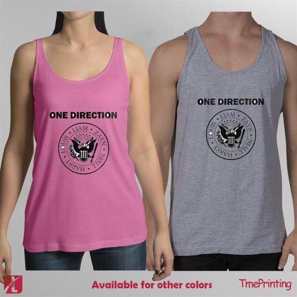 One Direction Logo tank top Merch One Direction for Men Tank Top, Women Tank Top