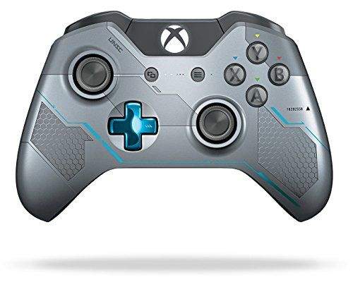 cool Xbox One Limited Edition Halo 5: Guardians Wireless Controller  Own the Limited Edition Halo 5: Guardians controller featuring a unique laser-etched design, metallic blue accents, military insignias, and a bonus RE... http://gameclone.com.au/accessories/controllers/xbox-one-limited-edition-halo-5-guardians-wireless-controller/