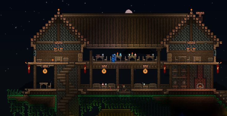 17 images about terraria inspiration on pinterest for Best house designs terraria