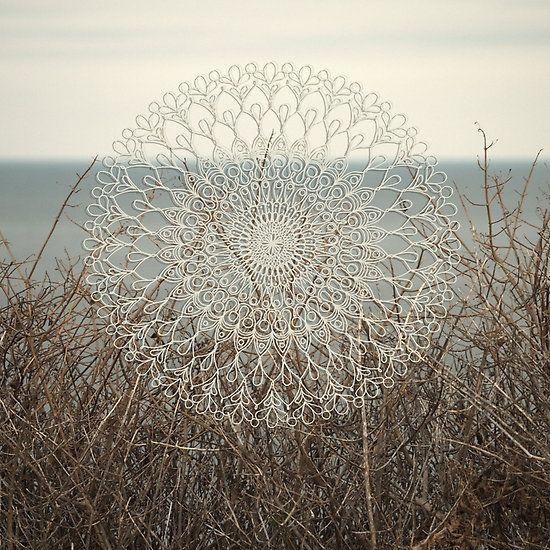 Sunbleached Mandala