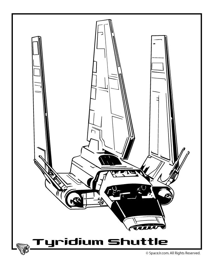 Star Wars Ships Coloring Pages Lineart Star Trek