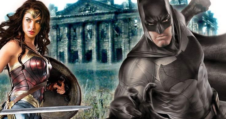 New Wayne Manor Revealed in Justice League Reshoot Photos? -- New photos from the Justice League U.K. reshoot reveal one of the key locations being used for the Wayne Manor set. -- http://movieweb.com/justice-league-movie-reshoots-set-photos-wayne-manor/