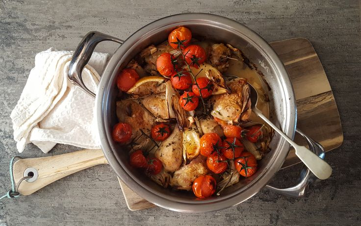 AMC Blog! Tuscan pan-roasted chicken thanks to Carey Erasmus