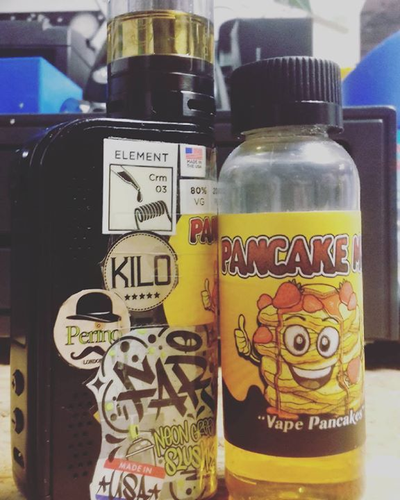 Been really excited to try out this Pancake Man liquid for ages can confirm it is  Browse our collection of E-liquid and vape hardware here: www.rad-apparel.com #420skatestore #420 #oxford #uk #england #vapelifestyle #vape #vaping #ecigjuice #ecigjunkie #60ml #vapejuice #vapenation #vapelifestyle #vapemod #pancakeman #eliquid #vapepancakes #cakevape #innokin #aspire #100w #mod #radapparel #vapelikeaboss http://ift.tt/2kbLPKp