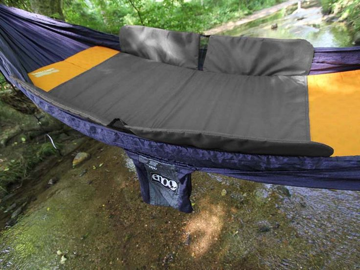 Cover: ENO Hotspot Pad.  Like Holding Fire.. The HotSpot will change hammocking forever. Fitting easily into any ENO hammock, the HotSpot slips around any standard size sleeping pad and holds it securely in place. The HotSpot's insulated wings and stretch panels wrap comfortably around you, effortlessly extending your hammock-camping season. The HotSpot is like holding fire in the palm of your hand.