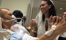 El último baile: una novia se casa en el hospital para poder bailar con su padre, enfermo de cáncer