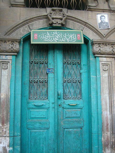 Doorway of old Antakya (Antioch), Hatay, Turkey