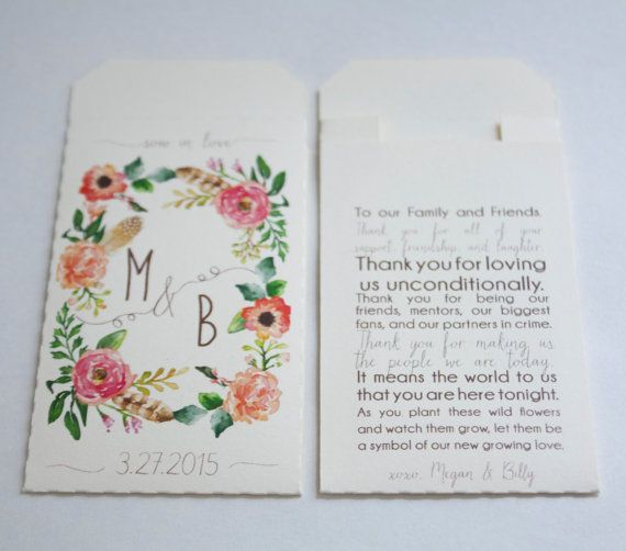 16 best seeds packaging images on pinterest packaging design sow in love wedding favor seed packet envelopes custom seed packets personalized wedding favor seed packets many colors available colourmoves