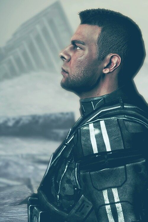 James Vega. His character has a really interesting backstory. I'm glad my femshep was friends with him. One hell of a warrior.