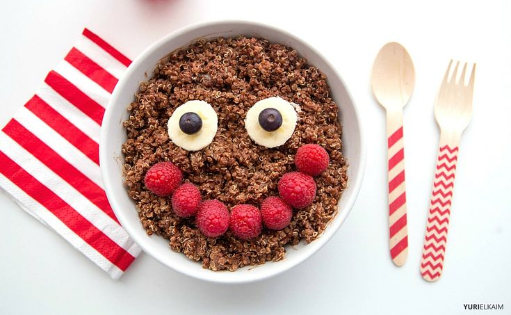 Chocolate Quinoa Healthy Breakfast for Kids