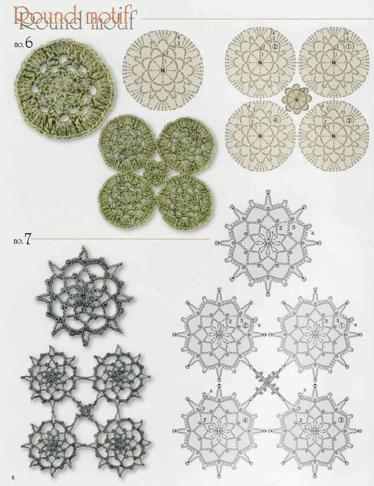 32 best Crochet granny geometrical shapes: graphs/charts images on ...