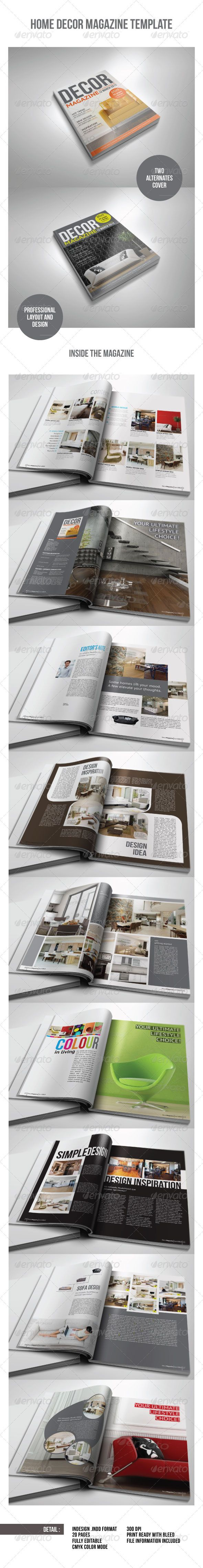 30 best Editorial/Magazine Template images on Pinterest | Magazine ...