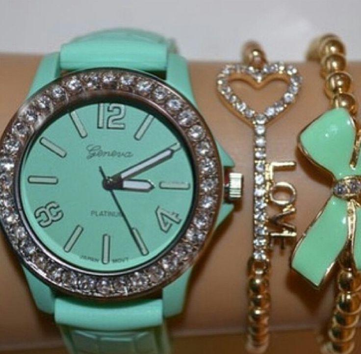 turquoise!