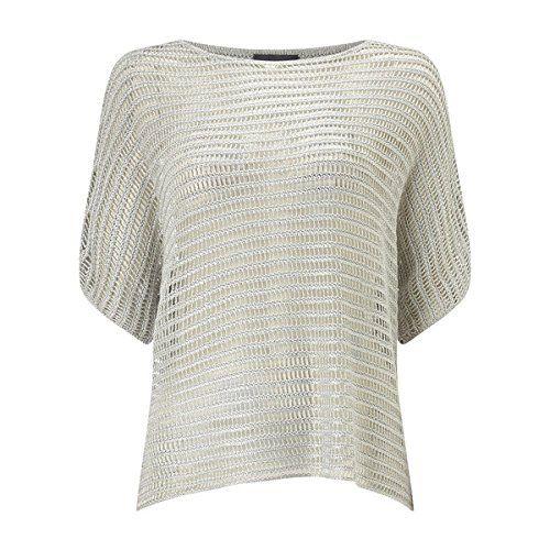 (フェーズ エイト) Phase Eight レディース トップス カジュアルシャツ Phase Eight Maura metallic knit top 並行輸入品  新品【取り寄せ商品のため、お届けまでに2週間前後かかります。】 カラー:シルバー 素材:-