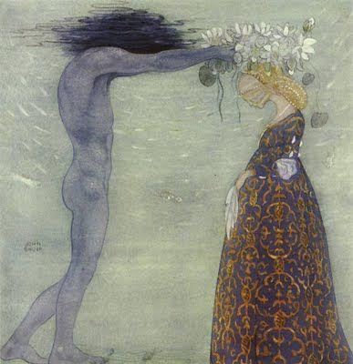 Hades crowns His Queen... John Bauer (1882-1918)