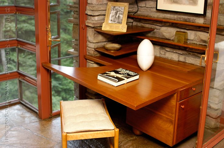 Fallingwater Desk In Bedroom Studio Cottage Dream