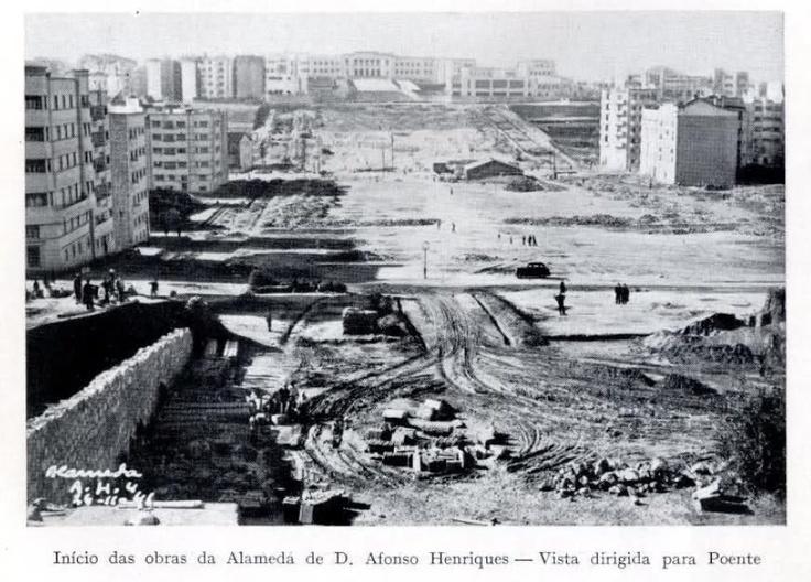 Alameda Dom Afonso Henriques e Av. Almirante Reis