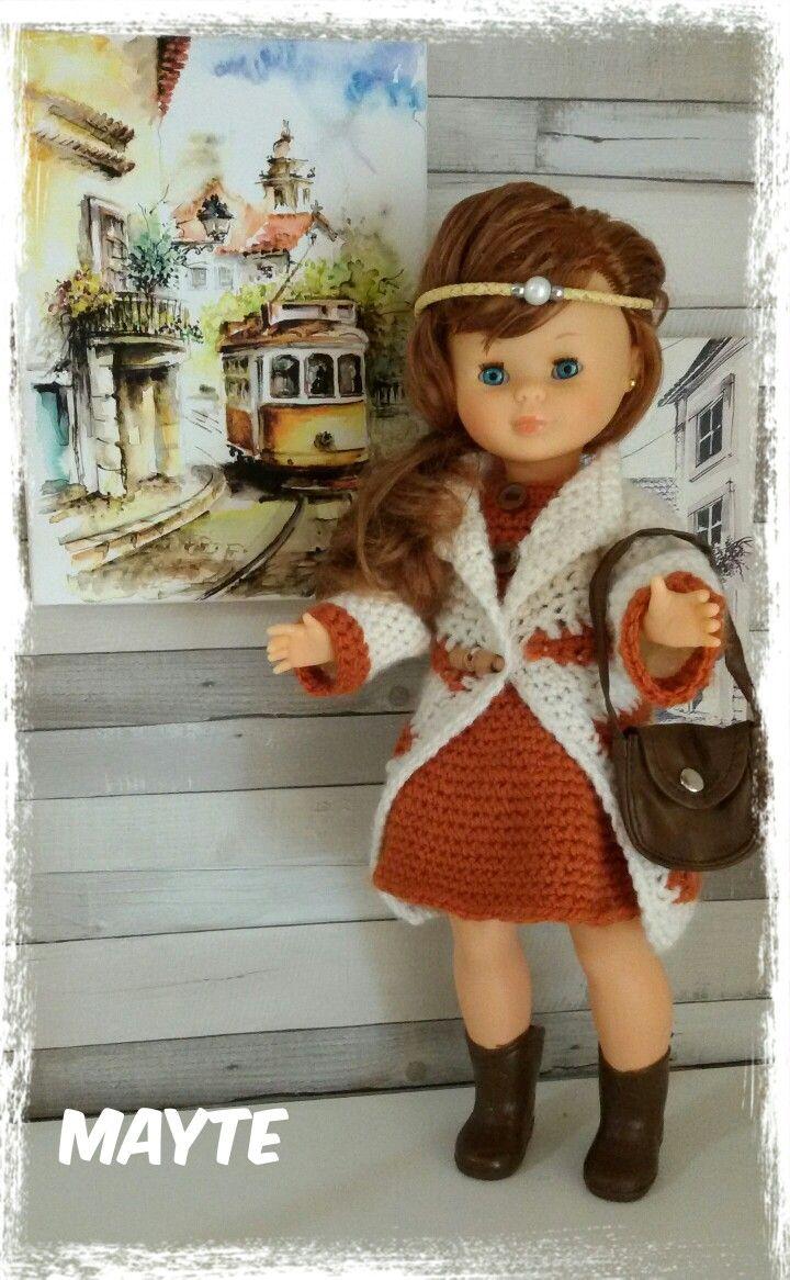 Nancy vestida de invierno a crochett