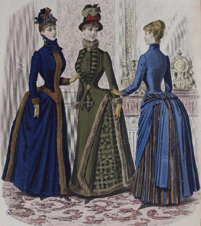 1885 Fashion Plate