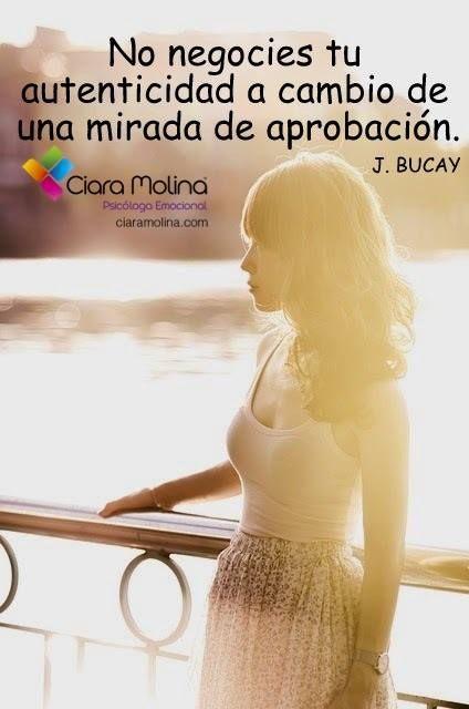 SÉ TÚ MISMO/A... (((Sesiones y Cursos Online www.ciaramolina.com #psicologia #emociones #salud)))