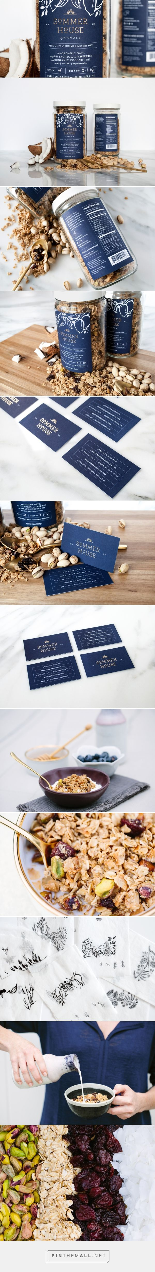 Sommer House Granola by Project M+ — The Dieline - Branding & Packaging