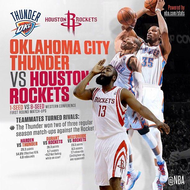 2013 Playoffs, Round 1: HOU vs. OKC