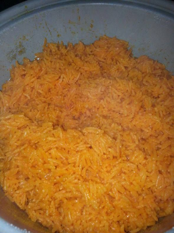Awesome  Red Rice Recipe - Guam