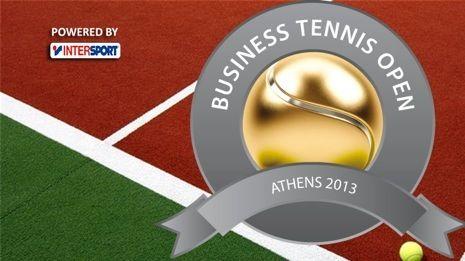 business tennis open - logo