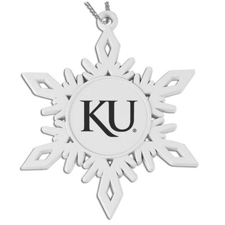 University of Kansas Jayhawks Pewter Ornament - Sutter's Mill (LXG) | Neebo.com