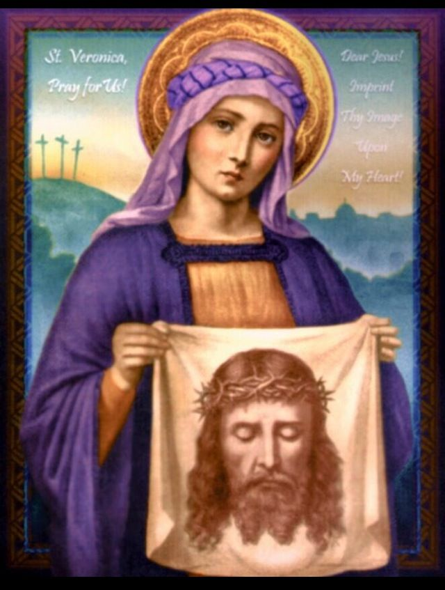 St. Veronica , Patron Saint of Photographers