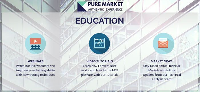 Pure Market Educational.