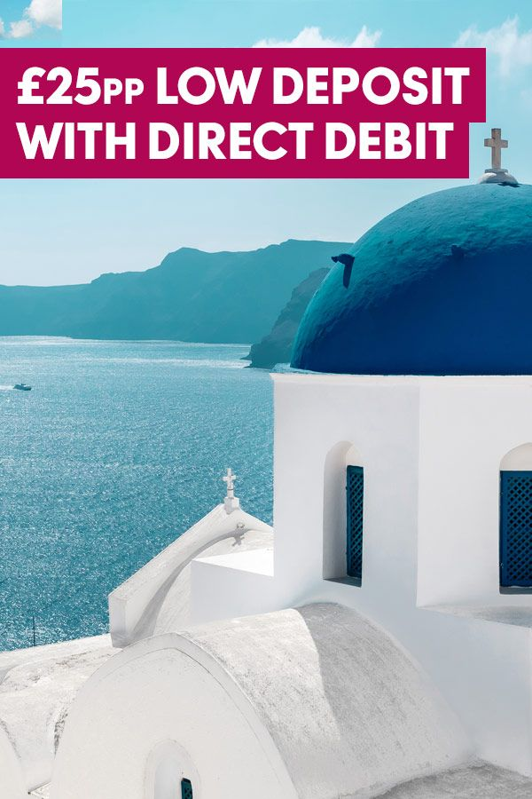 With white washed villages set amidst a natural volcanic backdrop, Santorini is the perfect destination for couples or families looking for a relaxing break on a sun-kissed coastline. Plus, £25pp low deposit when you pay by Direct Debit.